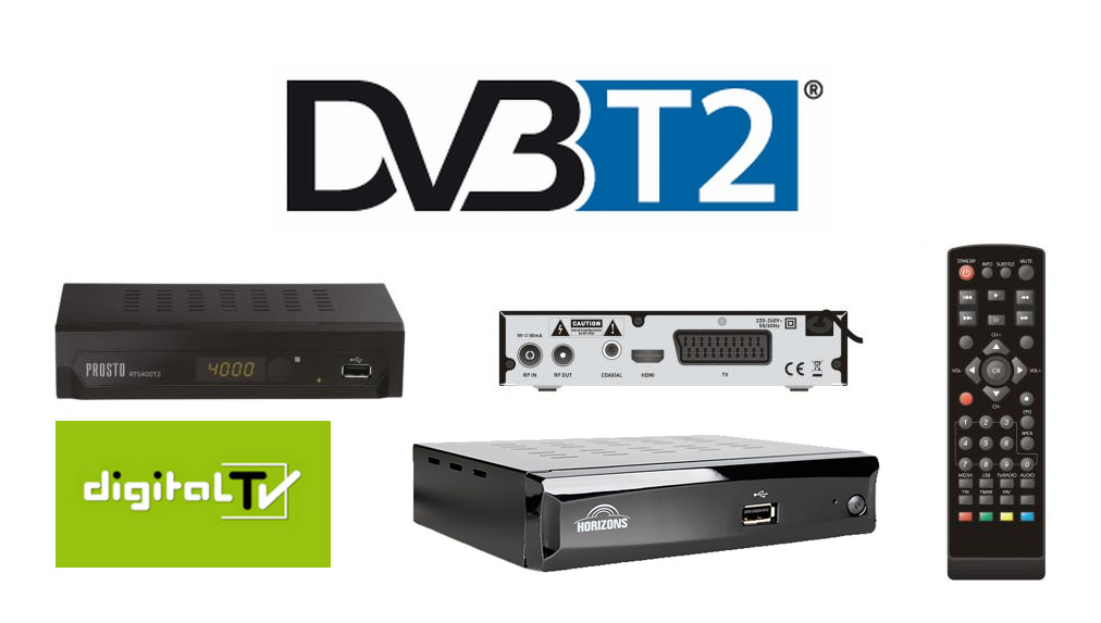 DVB-T2 prijemnici, Vivax, Horizons, Prosto, Digitalna televizija