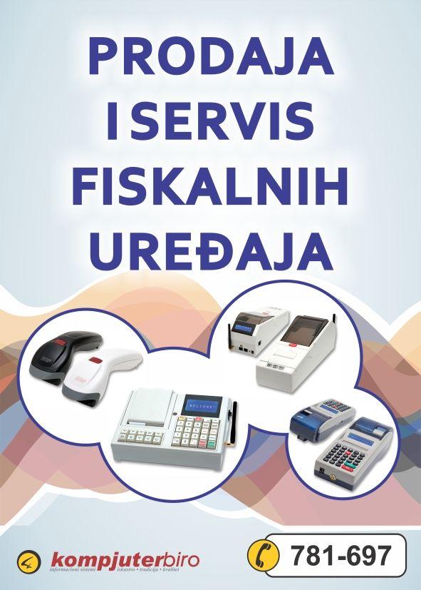 Prodaja i servis fiskalnih uređaja, HCP