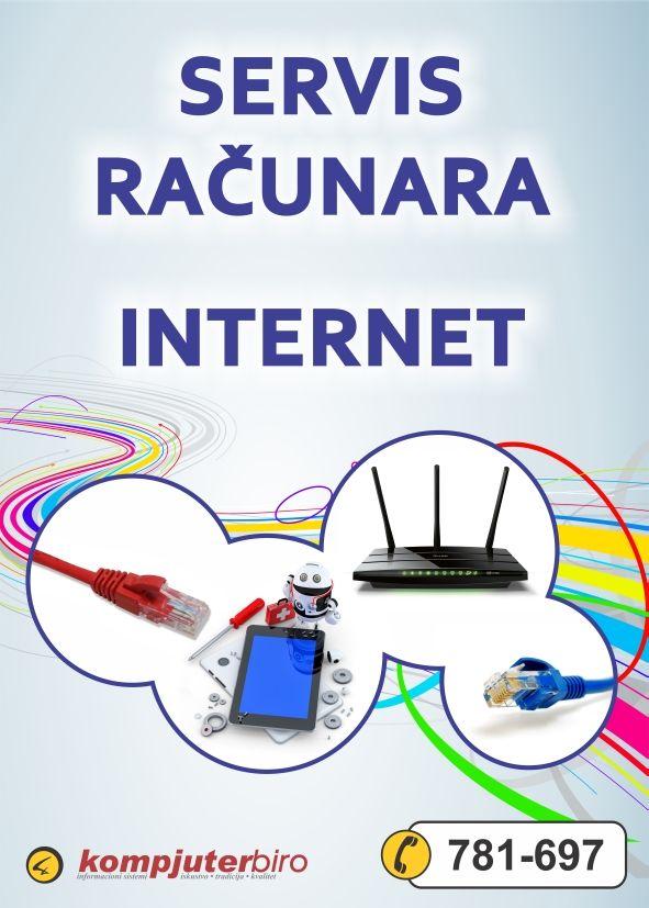 Servis računara, internet, EuNet, ADSL